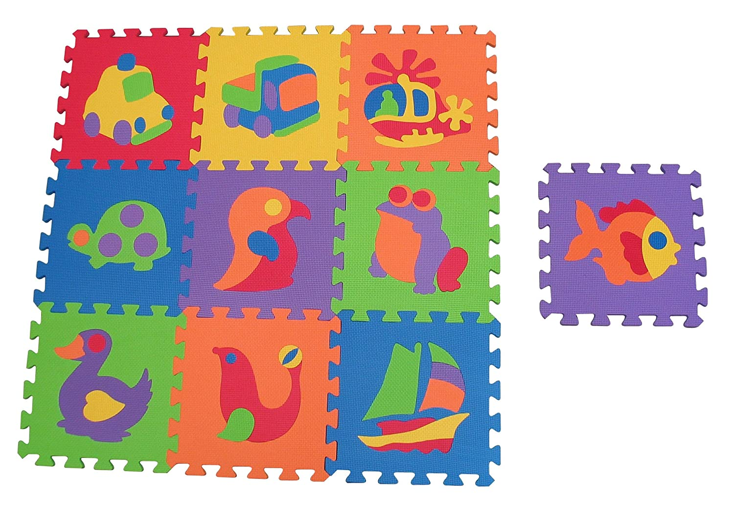Amazon edushape edutile puzzle 10 piece set floor puzzles amazon edushape edutile puzzle 10 piece set floor puzzles baby dailygadgetfo Image collections