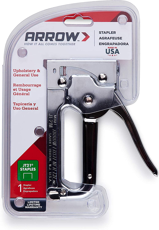 Arrow ARRJT2114S Agrafes pour JT21 T27 Boite 1000 6mm 1