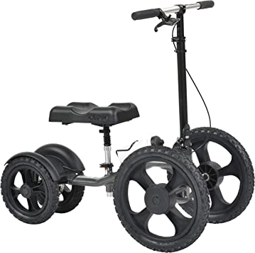 Amazon.com: Drive Medical All Terrain – Andador de rodilla y ...