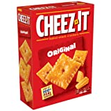 Cheez-It Original Baked Snack Cheese Crackers, 12.4 Ounce Box