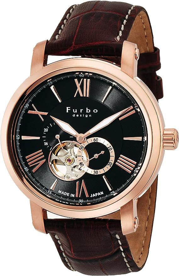 [フルボデザイン] 腕時計 F5026PBKBR メンズ ブラウン