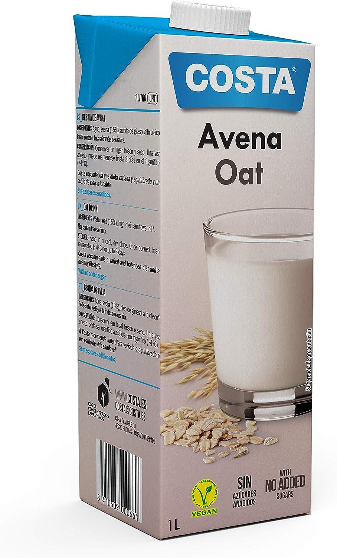 Costa Bebida De Avena 1L. 1000 ml: Amazon.es: Alimentación y bebidas