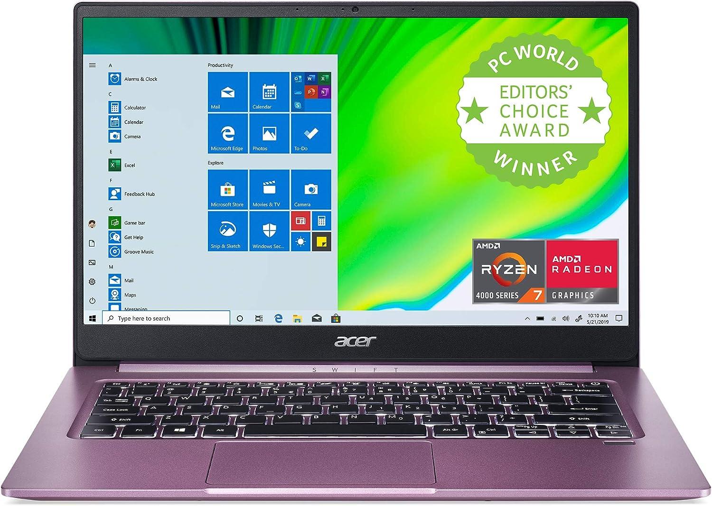 Acer Swift 3 Thin & Light Laptop, 14