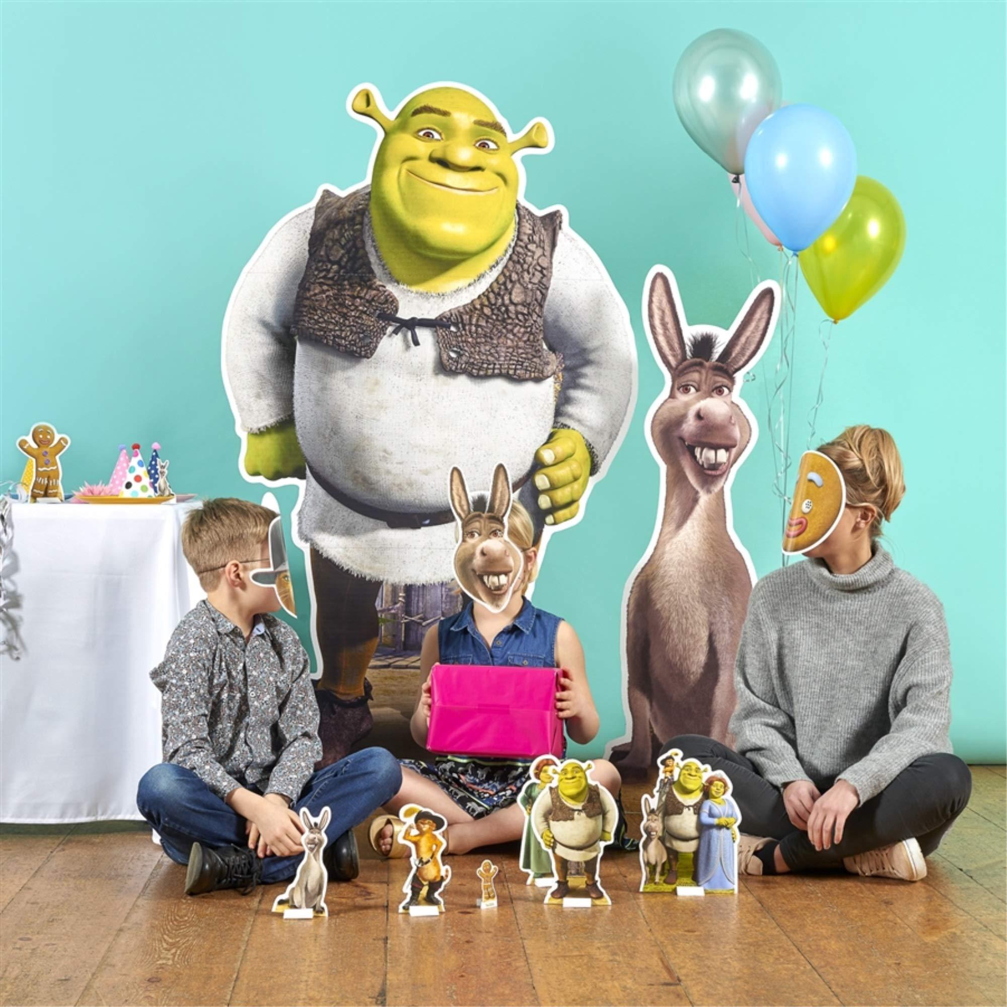 Star Cutouts, Shrek, Life-Size Cardboard Cutout Standup - 67 x 37 inches by Star Cutouts