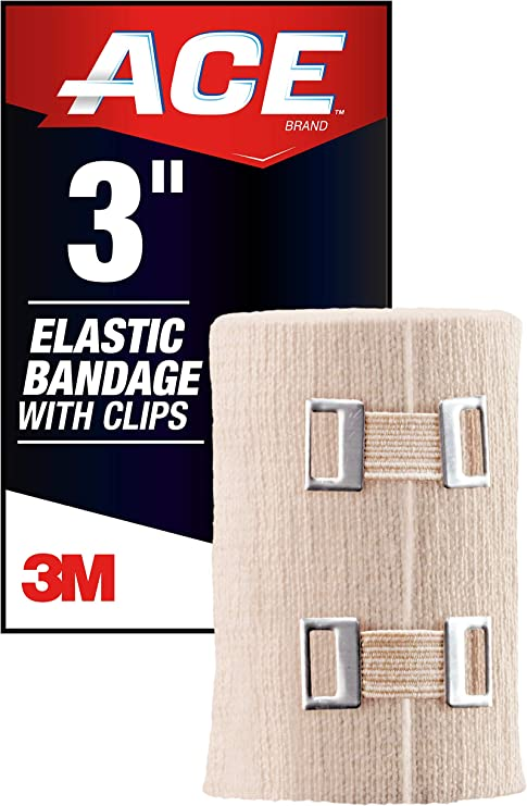 Amazon Com Ace 3 Inch Elastic Bandage With Clips Beige Great