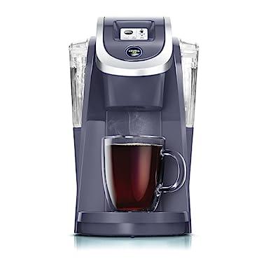 Keurig K250 Single Serve K-Cup Pod Coffee Maker with Strength Control, Plum Grey, Plum Grey