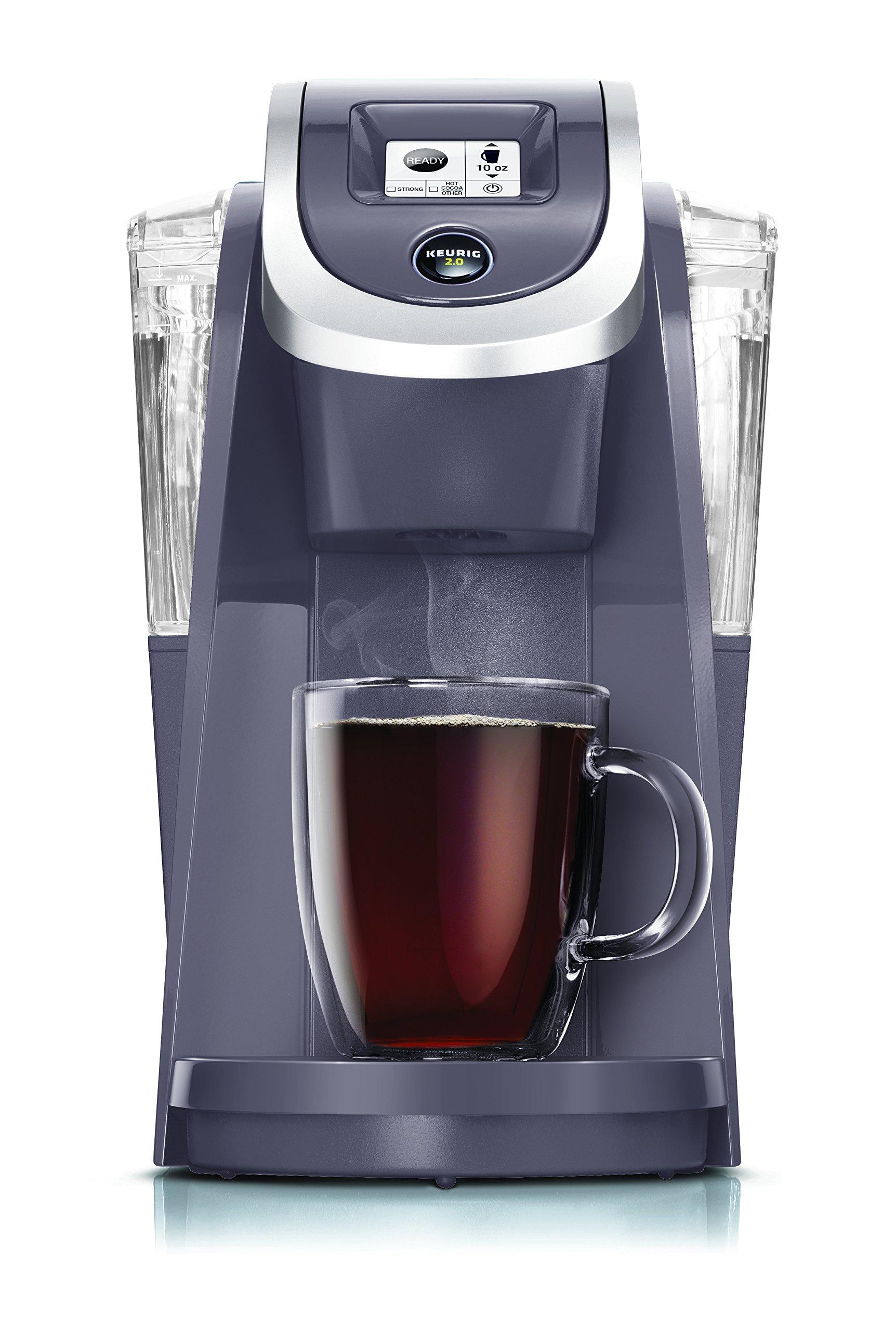 Keurig K250 Single Serve K-Cup Pod Coffee Maker with Strength Control Plum Grey Plum Grey by Keurig (Image #1)
