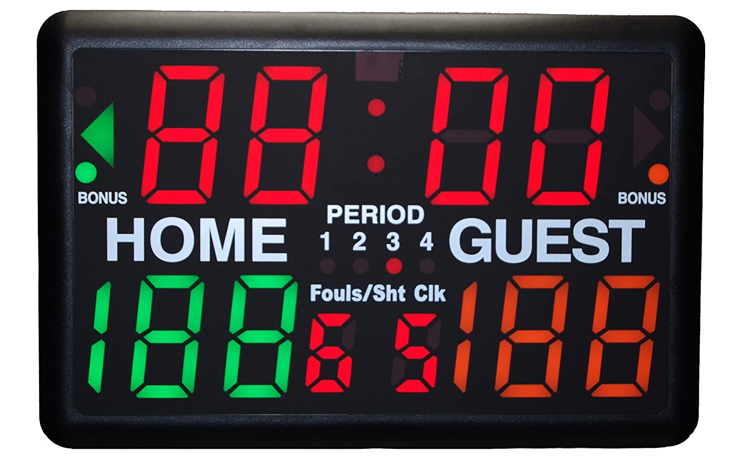 Amazoncom Scoreboards Timers Basketball Court Equipment