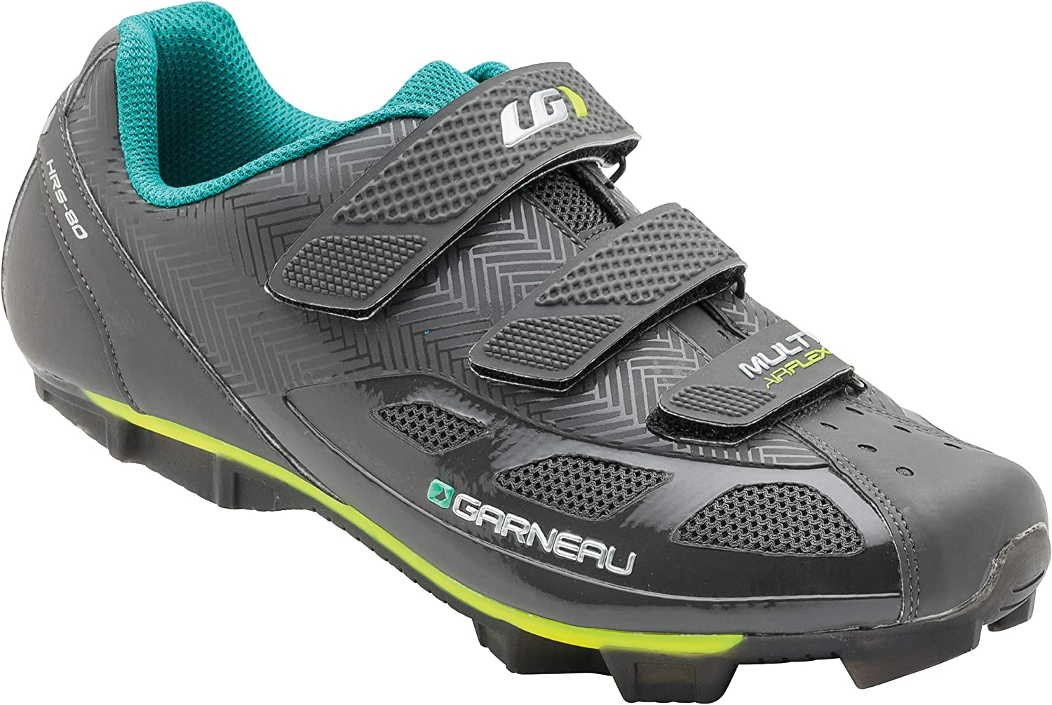 Louis Garneau, Women's Multi Air Flex Bike Shoes for Indoor Cycling, Commuting and MTB, SPD Cleats Compatible with MTB Pedals: Shoes