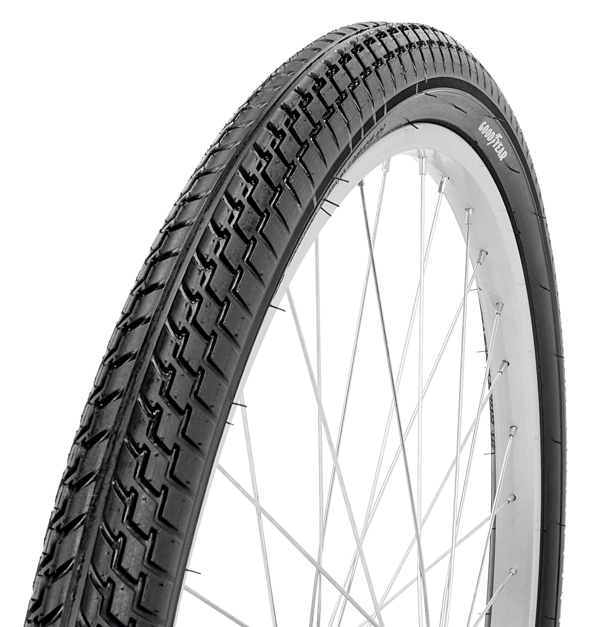 Goodyear Folding Bead Cruiser Bike Tire, 26'' x 2.2125'', Black