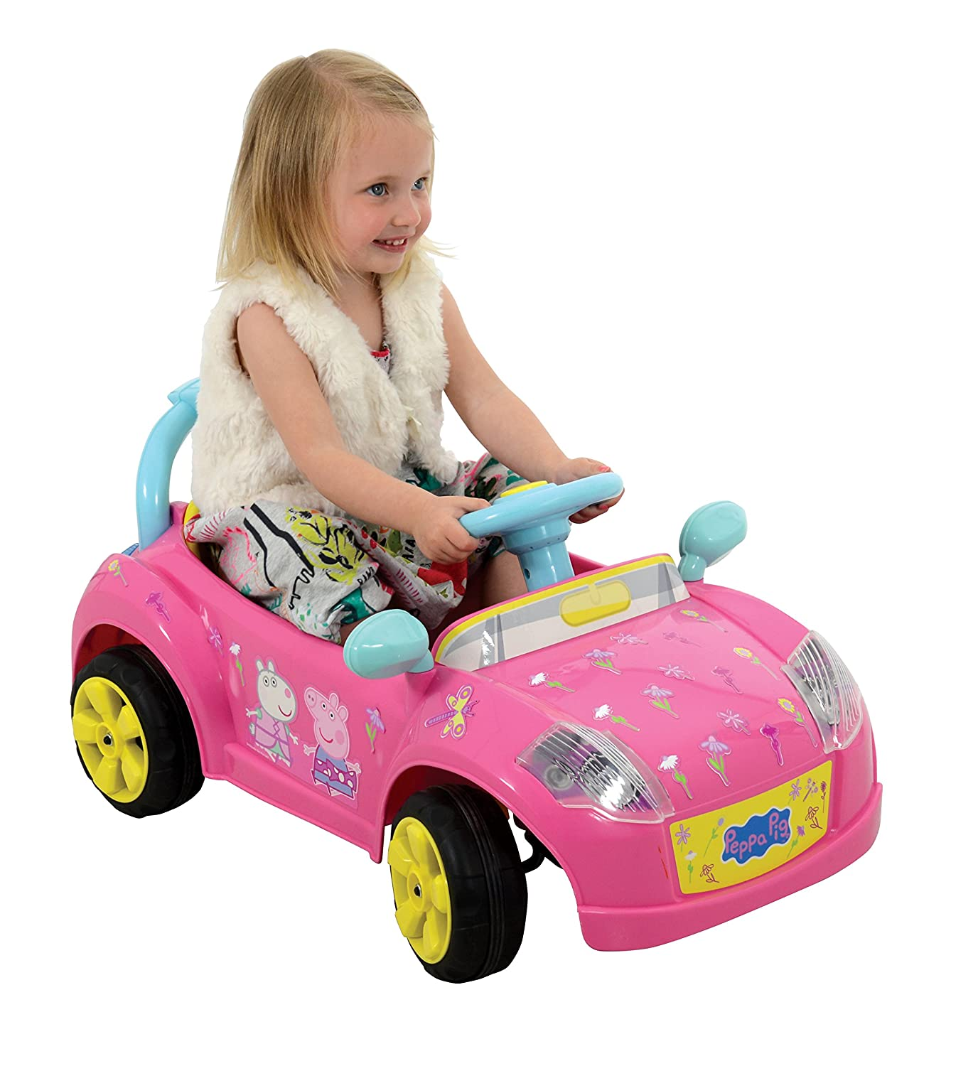 Peppa Pig M 6 V Battery Operated Car Toy Amazon Toys