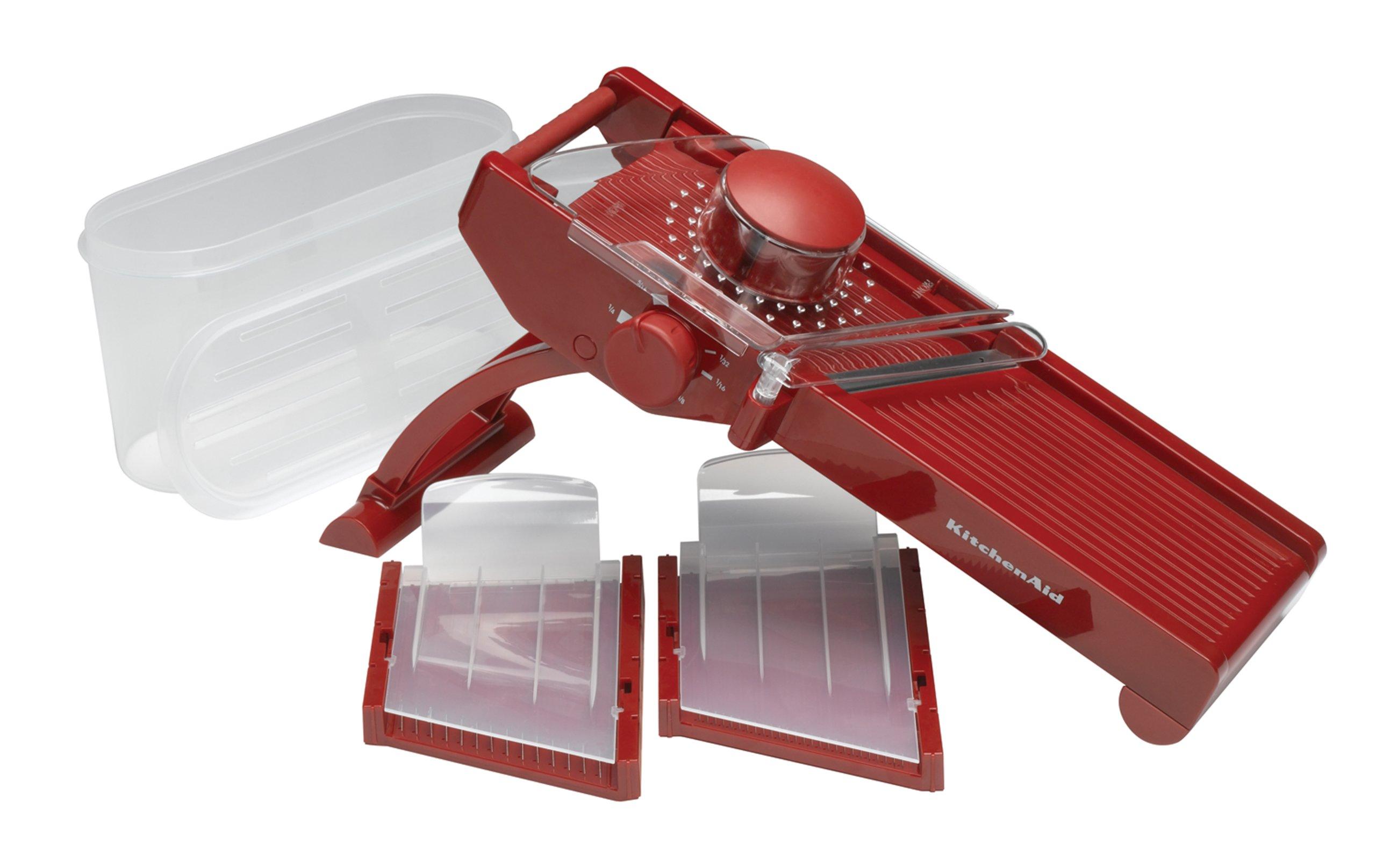 KitchenAid Mandoline Slicer, Red by KitchenAid