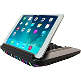 Prop 'n Go Slim - Adjustable Bed Holder & Lap Stand for iPad, iPad mini, Tablets and eReaders with Multi Angle Control (Striped)