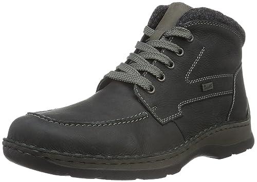 Rieker Mens 32332 Ankle Boots Grey (Coal/Anthrazit/45) 10.5 UK