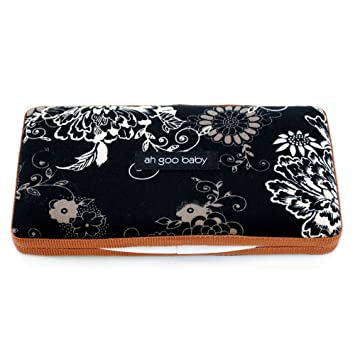 Ah Goo Baby Wipes Case, On-the-Go Travel Size, Earth Pattern