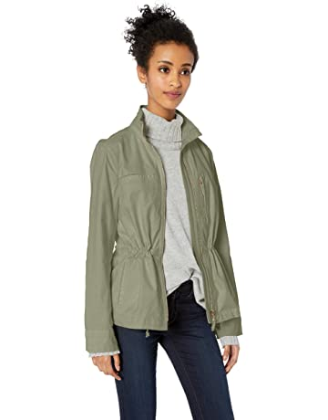 fa7a7a2d2534 Amazon Brand - Daily Ritual Women's Military Cargo Jacket