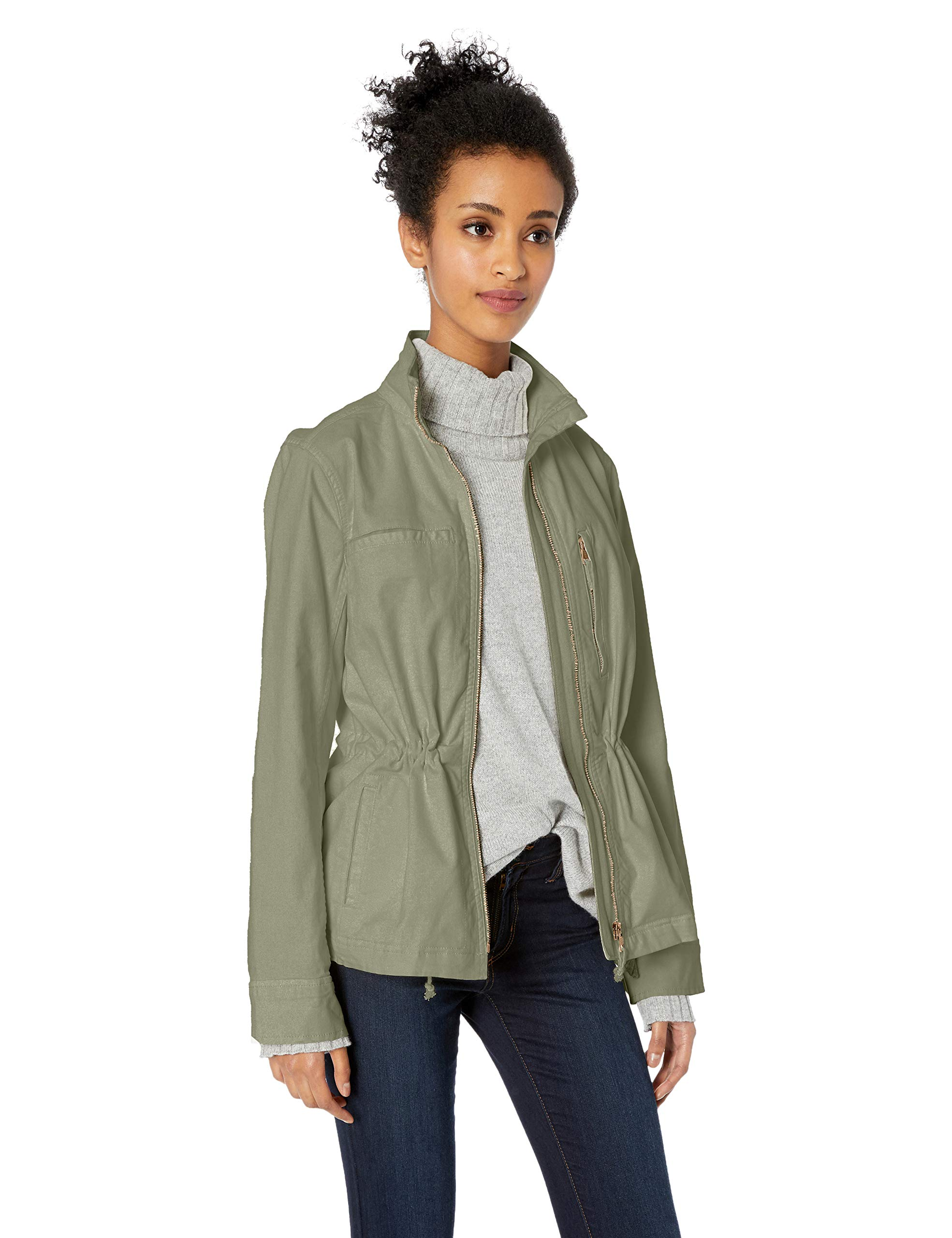 60bf399ce0 Amazon Brand - Daily Ritual Women's Military Cargo Jacket - Ultimate  Fashion Trends for Girls | Fashion's Girl