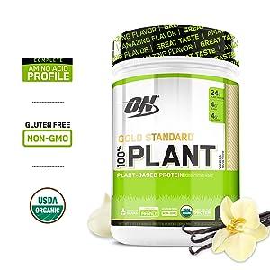 Optimum nutrition gold standard vanilla protein powder