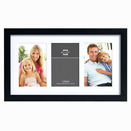 Amazon.com: Prinz 3-Opening Gallery Expressions Collage Frame, 4 by ...