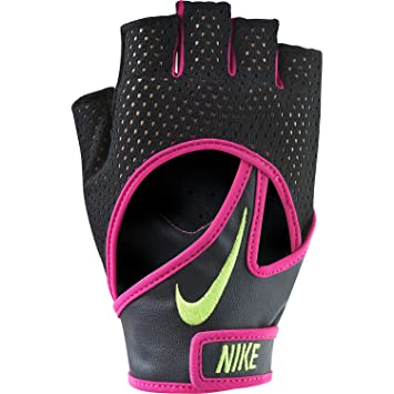 Nike Women s Pro Elevate Training Gloves 2.0 Small(Black Vivid Pink Volt) f850b6fbc8