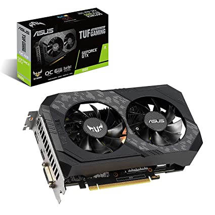 Amazon.com: ASUS TUF Gaming GeForce GTX 1660 Overclocked 6GB Dual-Fan Edition HDMI DP DVI Gaming Graphics Card (TUF-GTX1660-O6G-Gaming): Computers & ...
