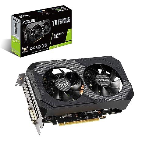 ASUS TUF-GTX1660-O6G-GAMING GeForce GTX 1660 6 GB GDDR5 ...