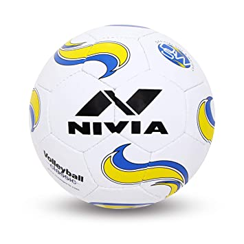 Nivia Classic Volleyball, Size 4  White