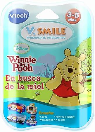 VTech V.Smile - Juego Educativo, Winnie The Pooh para V.S.Motion (80-084387)