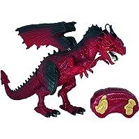 Boneco Dragão com Controle Remoto, Fogo, Candide