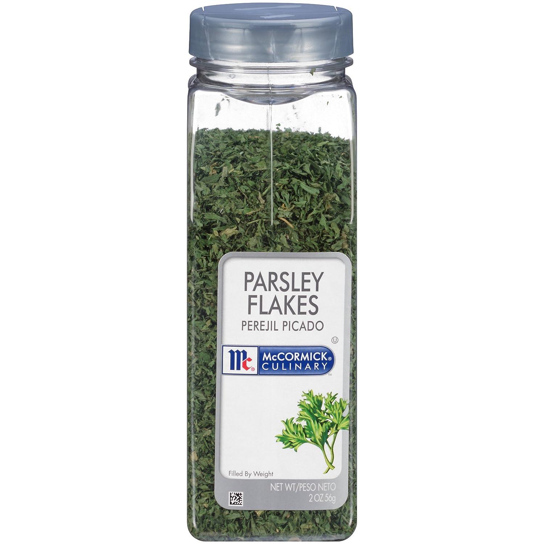 Amazon.com : McCormick Culinary Parsley Flakes, 2 oz : Parsley ...
