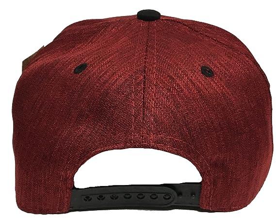 El Chapo 701 el señor de la Barba a lado Orgullo en la visera 3 Logos hat Maroon Black at Amazon Mens Clothing store: