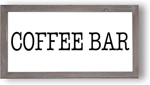 com coffee bar wood sign x country signs home decor