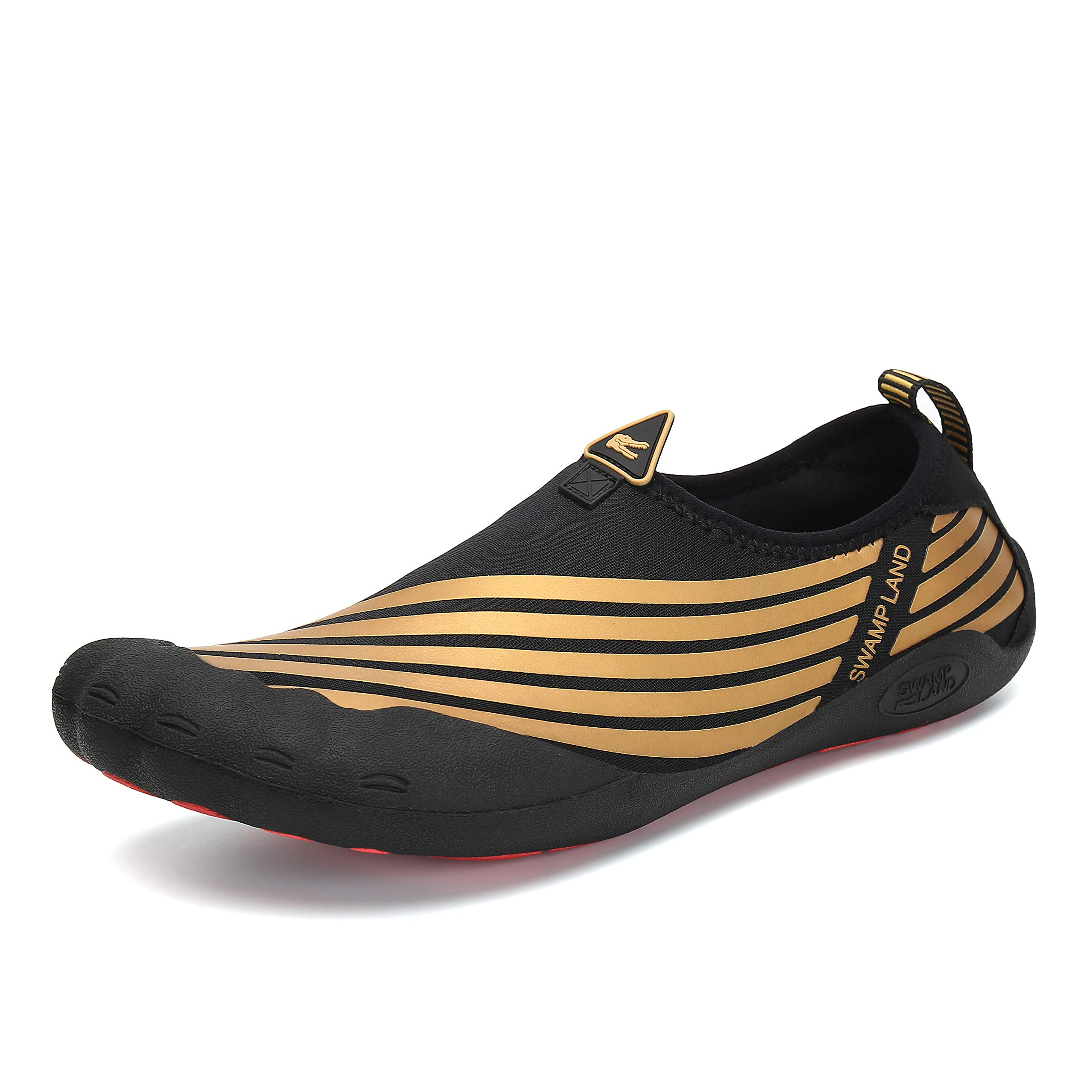 0d4dd61b2305 katliu Mens Water Shoes Wide Barefoot Hiking Trail Running Shoe Womens  Outdoor Swimming Socks
