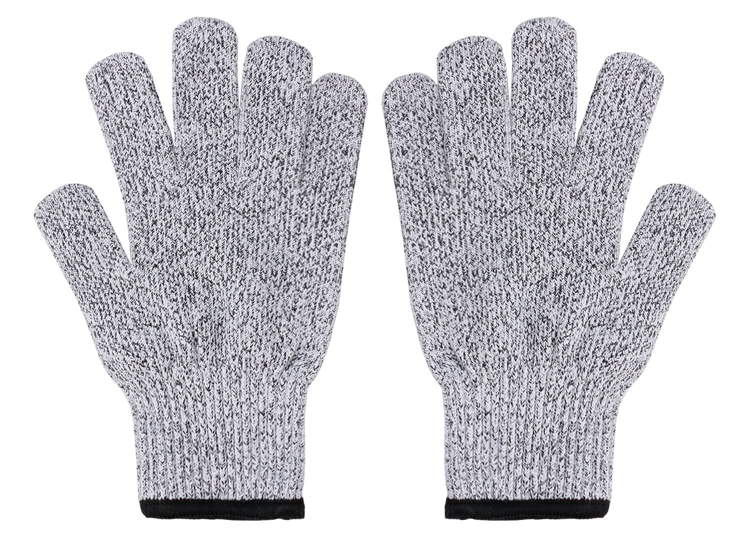 YiZYiF Cut Resistant Gloves Best Food Grade Kitchen Level 5 Cut Protection Knit Safety for Cooking, Working, Wood carving by YiZYiF (Image #6)