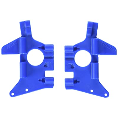 RPM Front Bulkheads for All Versions of The T-Maxx and E-Maxx, Blue: Toys & Games