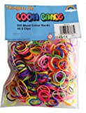 Refill for Loom Bands 600 Bands & 24 clips Mixed Colour
