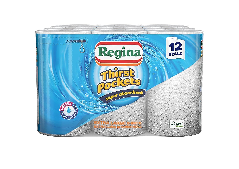 Regina Thirst Pockets Kitchen Towels, Large Intertissue Limited 413539