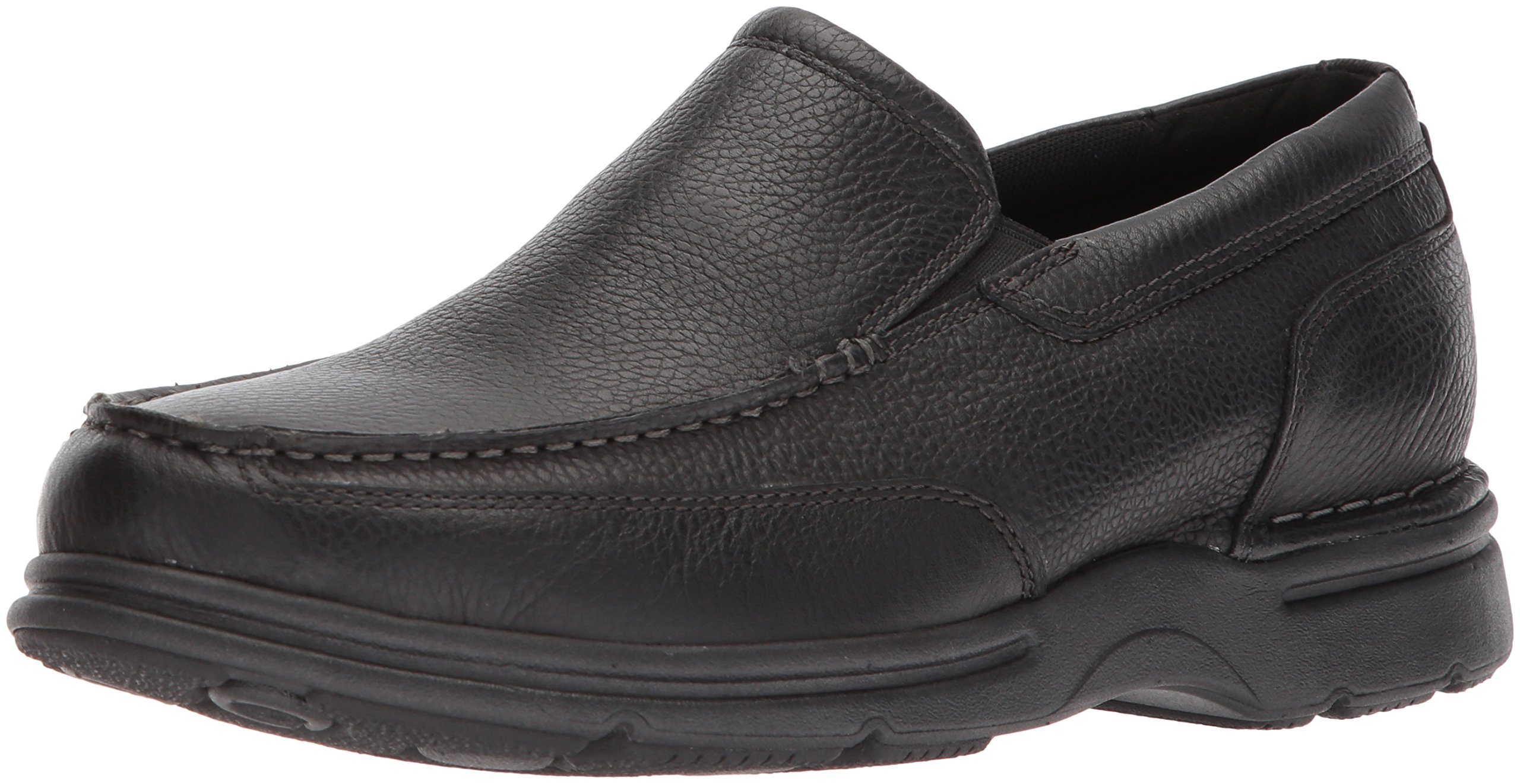 Rockport Men's Eureka Plus Slip On Oxford, Black, 9 W US by Rockport