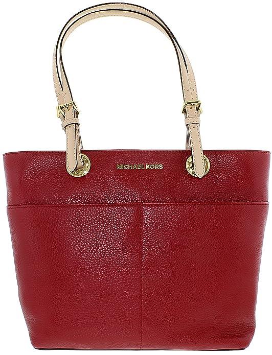 c26ce0e8f860 Amazon.com: Michael Kors Women's Bedford Leather Top-Handle Bag Tote -  Acorn: Michael Kors: Shoes