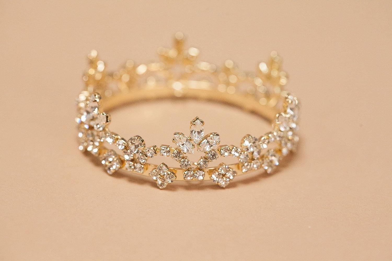 Rhinestone Tiara For Baby Girl Newborn Crown Baby Crown Rhinestone Crown Tiara Headband Crystal Crown Cake Smash Crown Crown Cake Topper