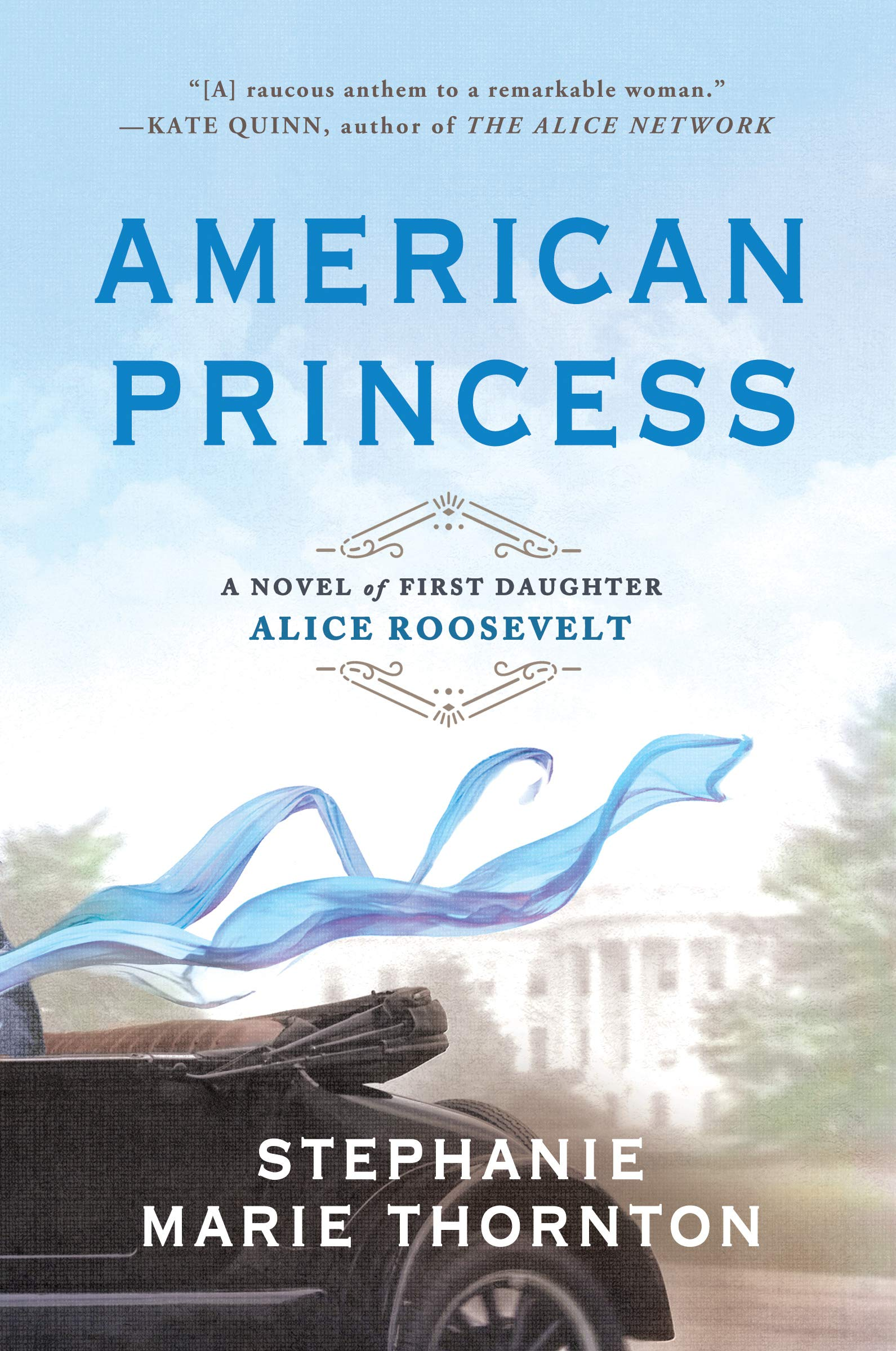 Image result for book cover american princess stephanie marie thornton