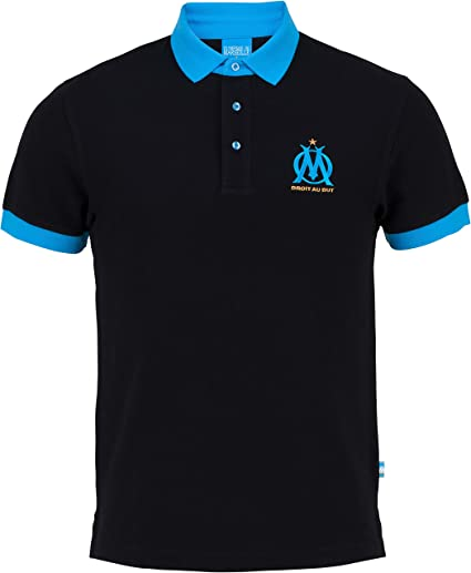 OLYMPIQUE DE MARSEILLE Polo Om Collection Officielle Taille Adulte Homme