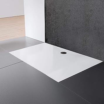 Schulte EP214022 04 Plato de ducha, Blanco alpino, 90 x 140 cm: Amazon.es: Bricolaje y herramientas