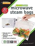 Quickasteam Pack of 30 Medium Microwave Cooking Bags