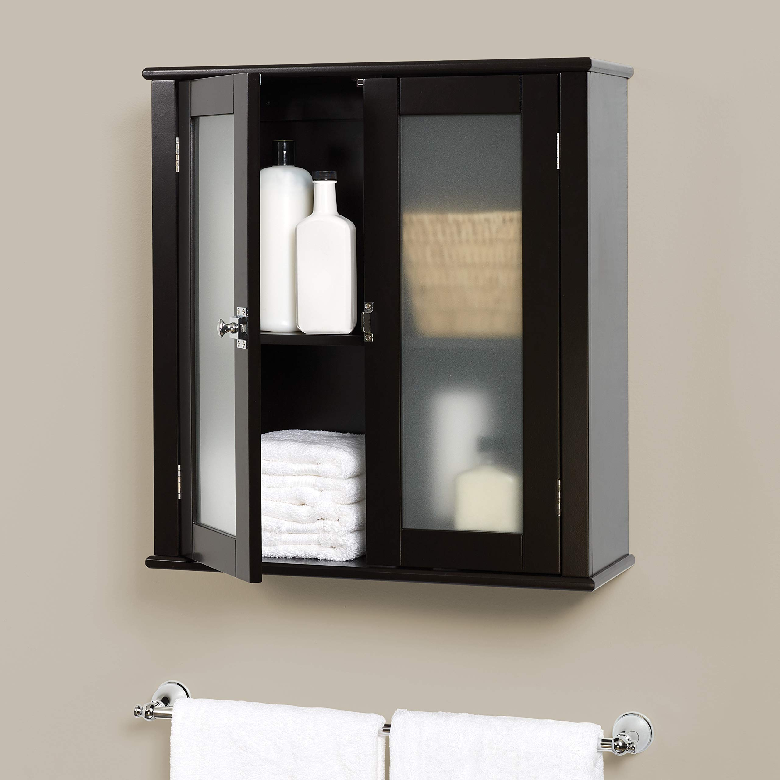 Zenna Home Classic Wall Cabinet, Espresso by Zenna Home (Image #3)