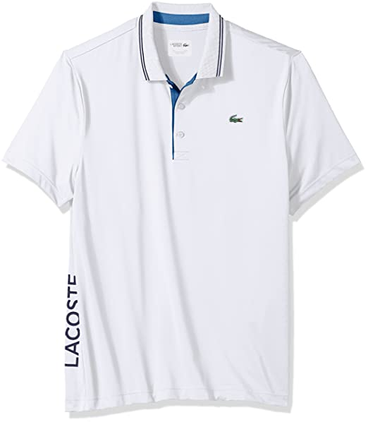 bbb2c83962 Lacoste Mens Men's Sport Short Sleeve Jersey Stretch Technical ...