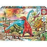 Educa Borrás 13179-100 Dinosaurios