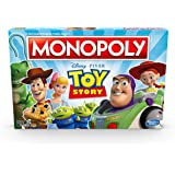 Monopoly Toy Story Edition - 2 to 6 Players - Disney / Pixar Family Board Games - Ages 8+