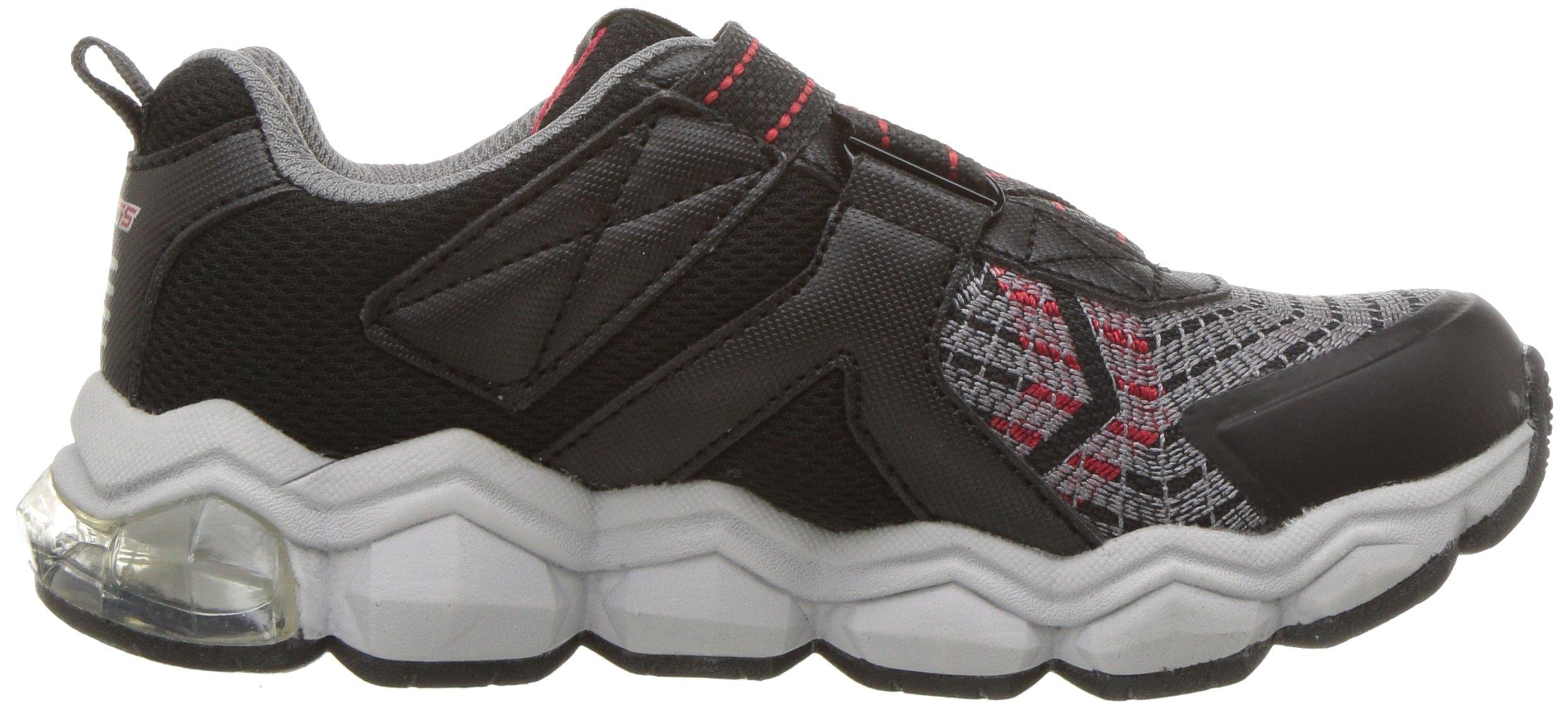 Skechers Kids Boys' Turbo-Flash-90596L Sneaker,Black/red,3 Medium US Little Kid by Skechers (Image #6)