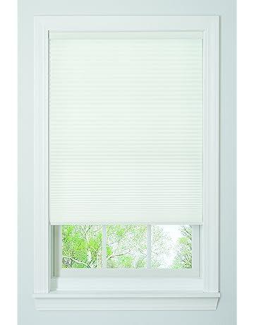honeycomb window blinds side by side shop amazoncom window honeycomb shades